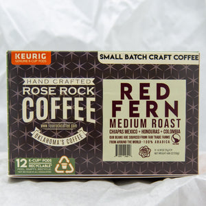 Rose Rock K-Cups Red Fern