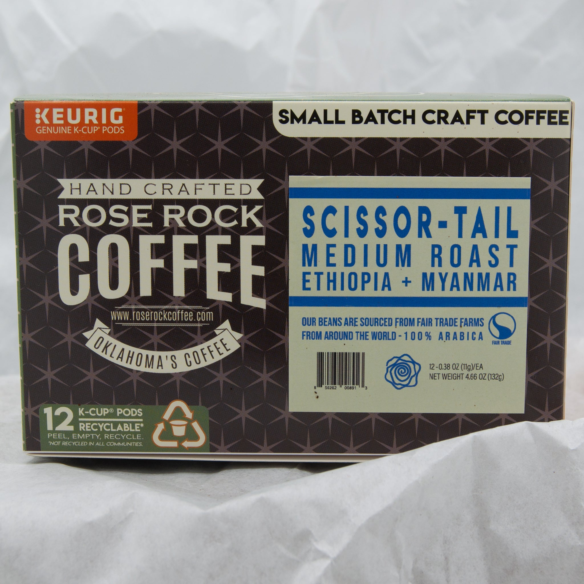 Rose Rock K-Cups Scissor-Tail
