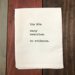 The 90's - Tea Towel