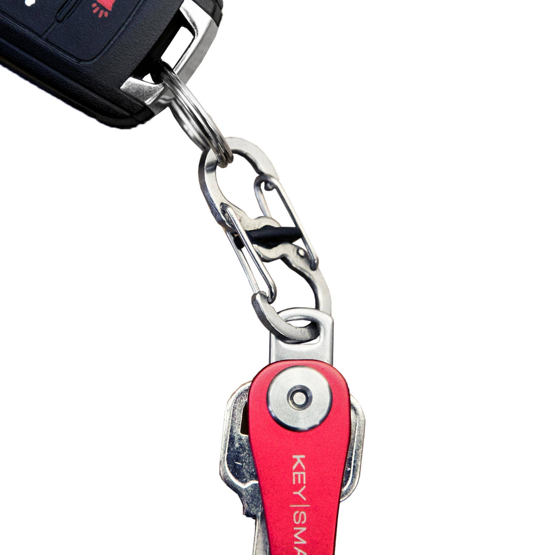 KeySmart - Quick-Disconnect | Nite-Ize S-Biner with Micro-Lock