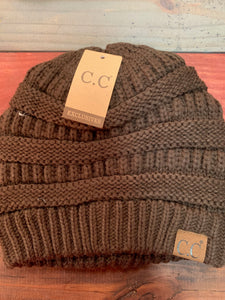 Brown Original CC Beanie