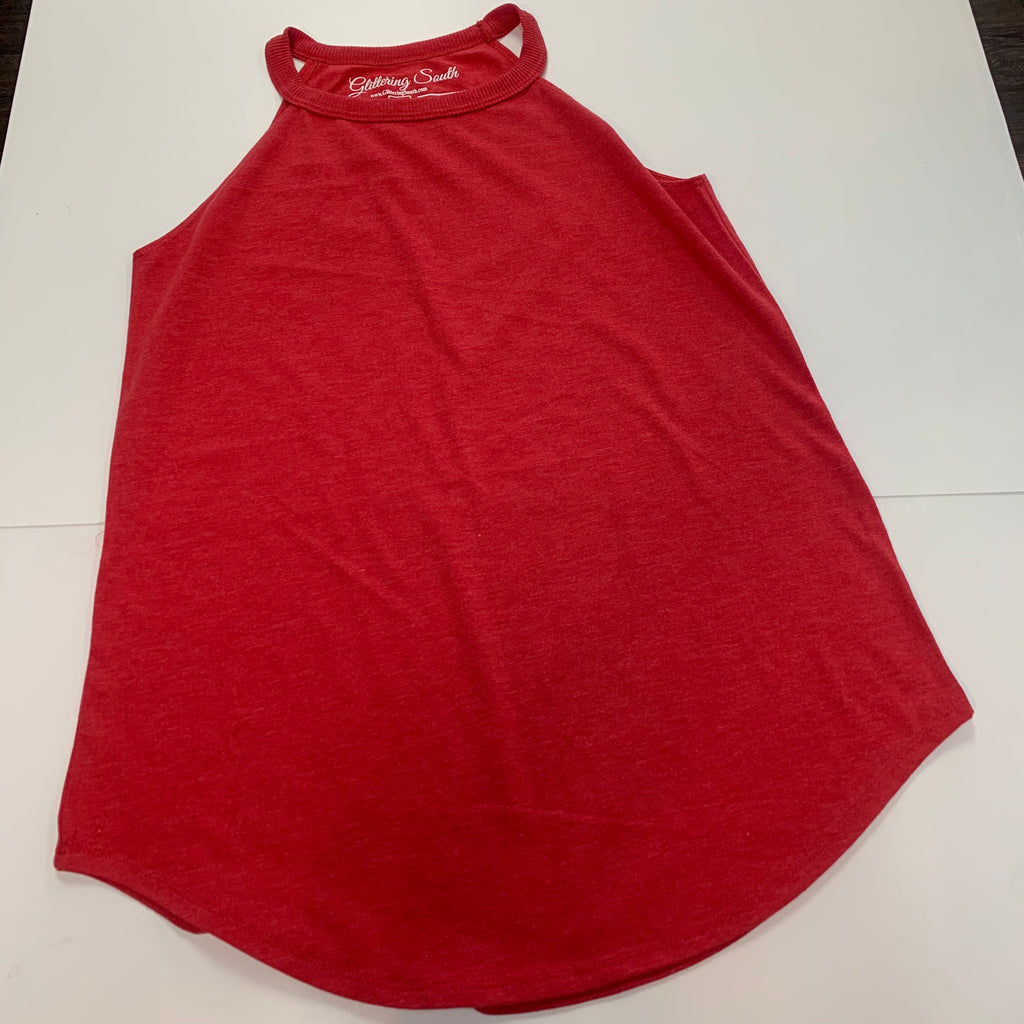 Goddess Tank Heather Red