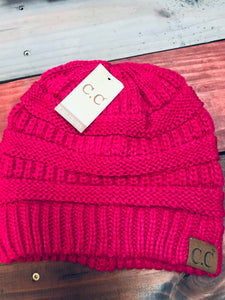 Hot Pink Original CC Beanie