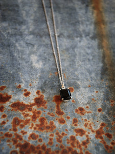 Buffalo Girls Salvage  - Black/Silver Bonnie Necklace