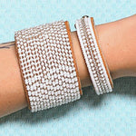 Swahili Coast -  Silver & White Ombre Collection