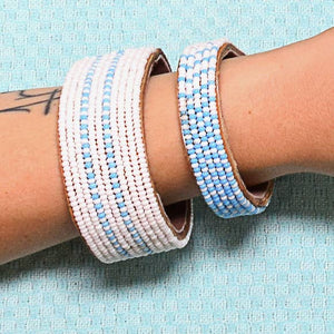 Swahili Coast -  Light Blue Dashes Collection