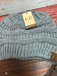 Light Melange Grey Original CC Beanie