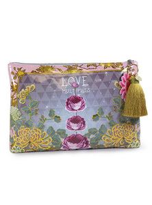 PAPAYA! - Love Multiplies Large Accessory Bag
