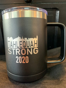 Tahlequah Strong 15oz Mug with Slider Lid