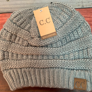 Natural Grey Original CC Beanie