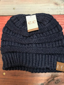 Navy Blue Original CC Beanie