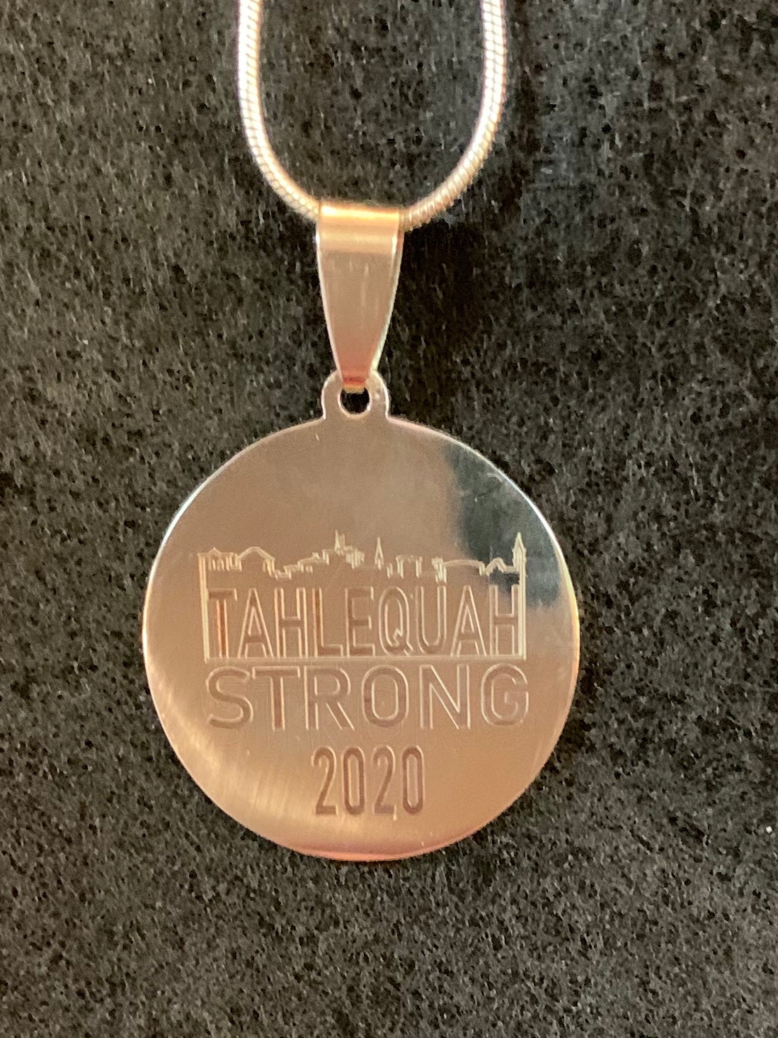 Tahlequah Strong Charm Necklace