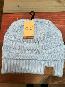 Pale Blue Original CC Beanie