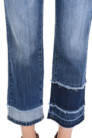 Judy Blue Patch Flair Jeans