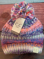 CC New Kids Striped Pom