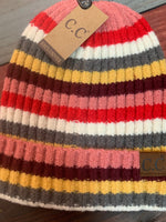 CC New Striped Beanie