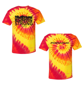 "Tahlequah Strong TIE DYE ""Inferno"" IN STOCK"