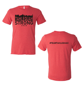 Tahlequah Strong RED Triblend PREORDERS