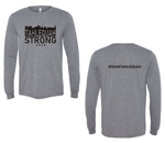 Tahlequah Strong Grey Long Sleeve TRIBLEND IN STOCK