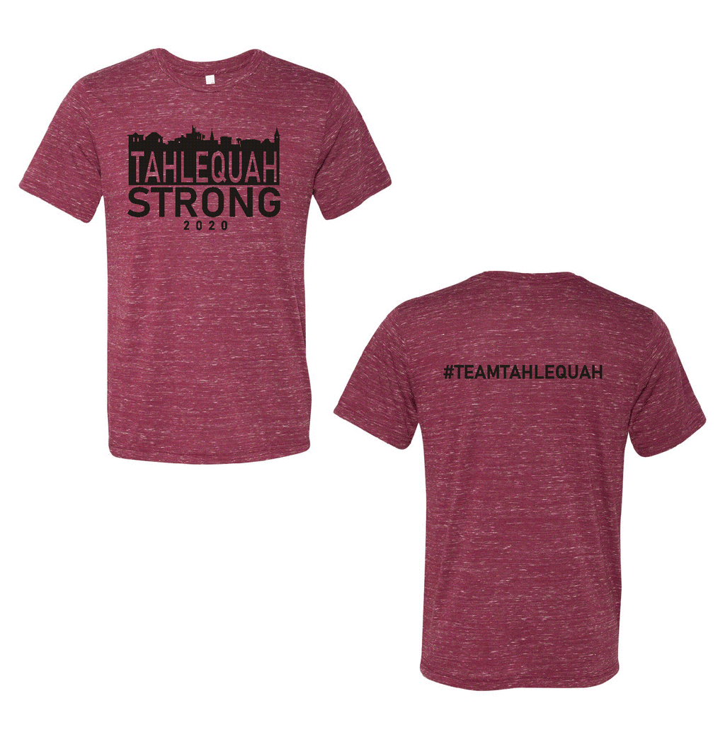 Tahlequah Strong MAROON MARBLE PREORDER