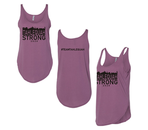 Tahlequah Strong Tank Tops SHIRAZ-In Stock