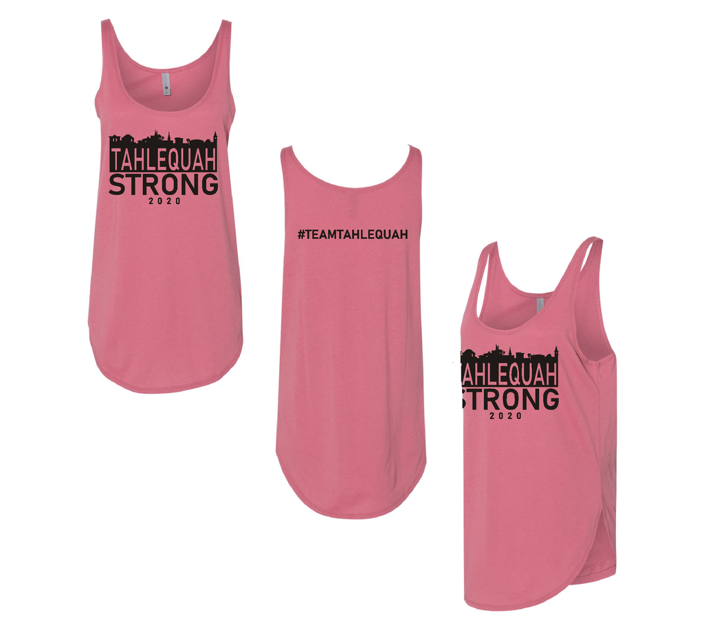 Tahlequah Strong Tank Tops PAPRIKA -In Stock