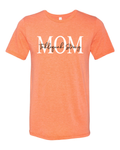 Tahlequah Strong MOM Orange Crew Neck