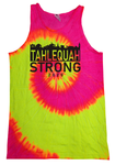 Tahlequah Strong Unisex Tank Tops FLUORESCENT Swirl IN STOCK