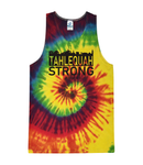 Tahlequah Strong Unisex Tank Tops REACTIVE RAINBOW-In Stock