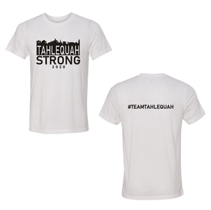 Tahlequah Strong WHITE TRIBLEND PREORDER