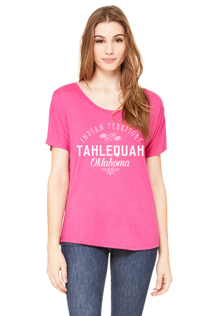 Tahlequah 1839 - Women's  Slouchy Tee