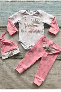 Princess Has Arrived Outfit 18-24 Months
