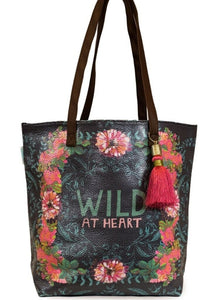 PAPAYA! - Wild at Heart Bucket Tote