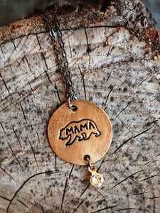Buffalo Girls Salvage - Mama Bear Necklace