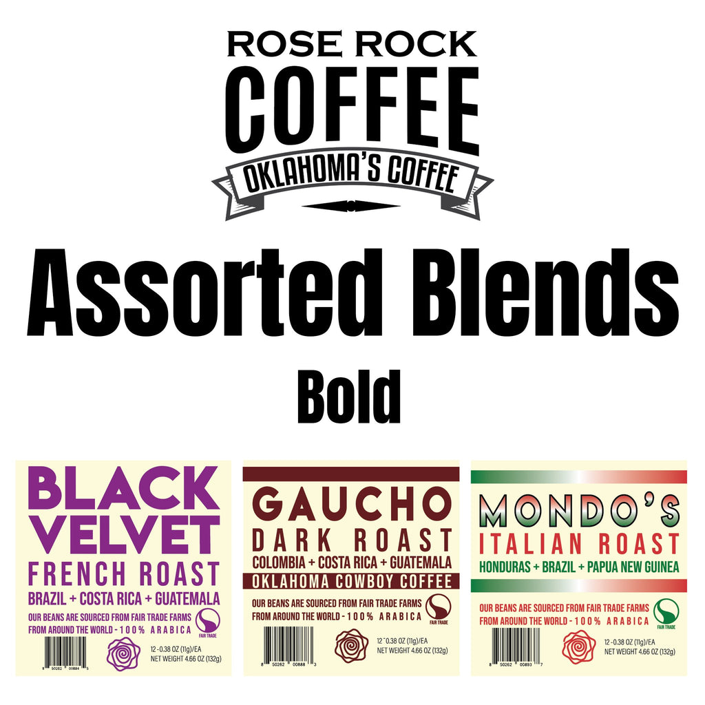 Rose Rock K-Cups Assorted Blends - Bold