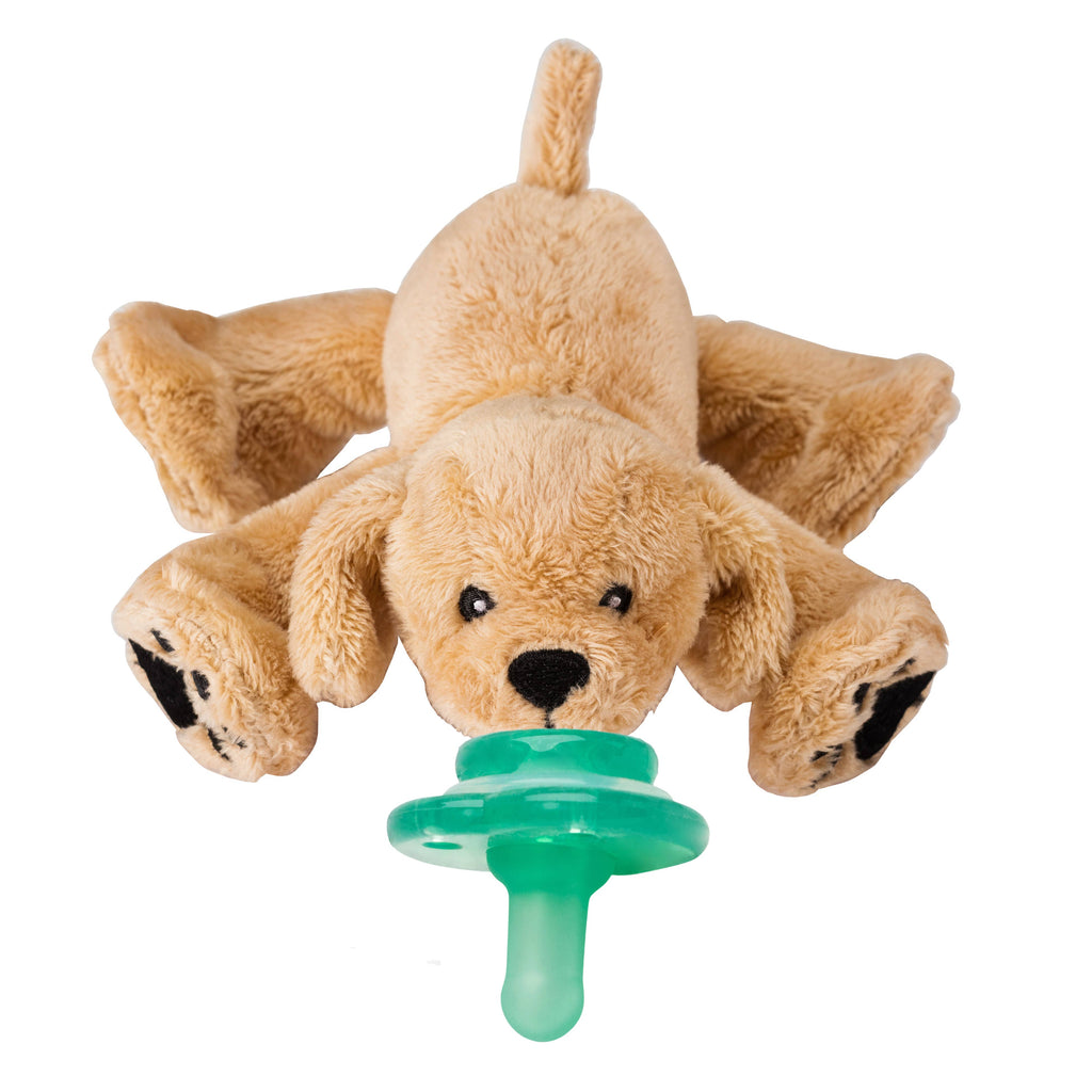 Nookums - Paci-Plushies Buddies - Rufus Retriever