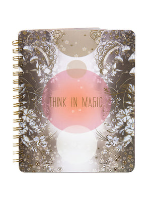 PAPAYA! - Spiral Notebook - Think In Magic