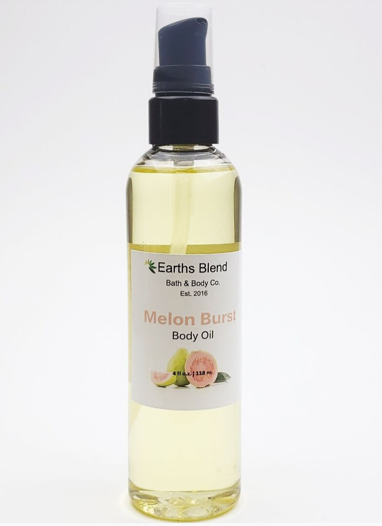 Earths Blend Bath & Body Co. - Melon Burst Body Oil