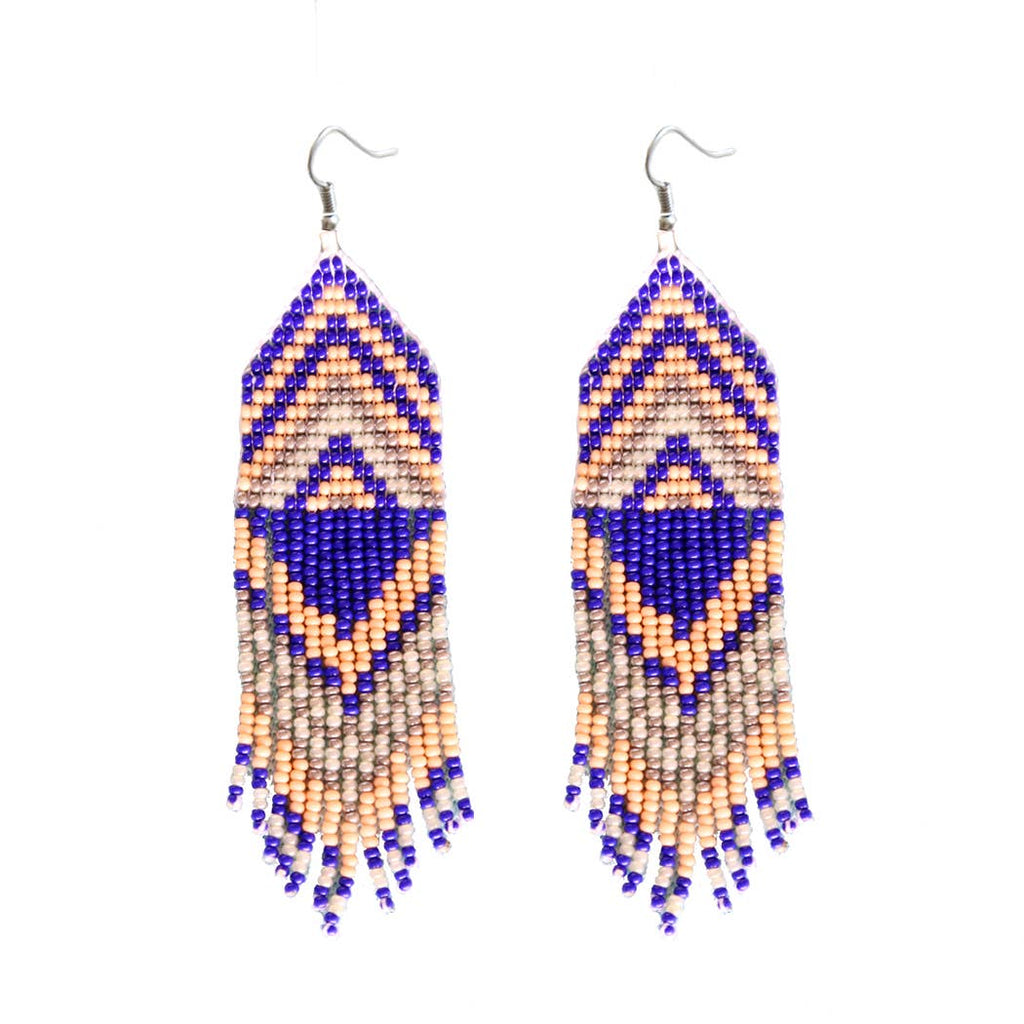 FOSTERIE - Exito Coral Beaded Earrings