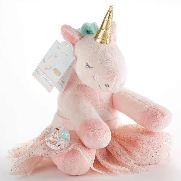 Baby Aspen - Rosie the Unicorn Plush Plus with Tutu