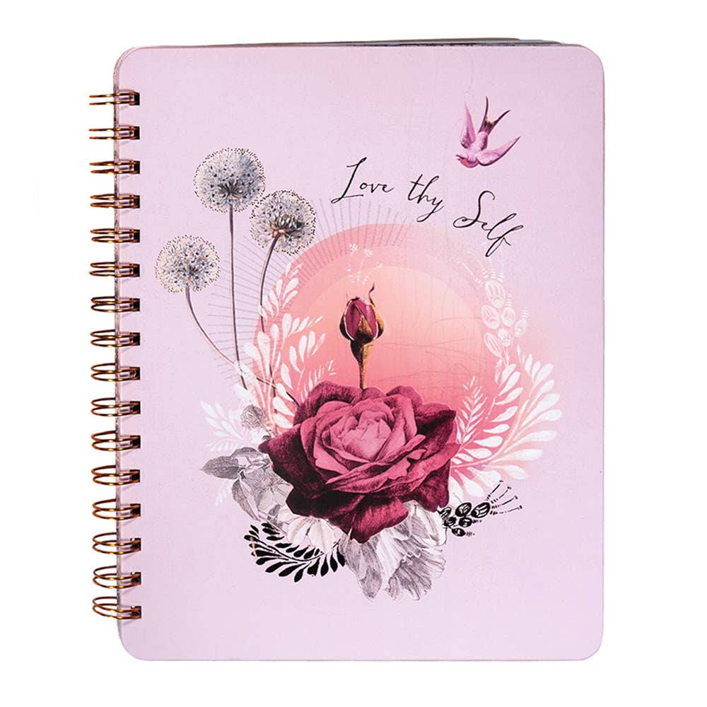 PAPAYA - Spiral Notebook - Lavender Rose