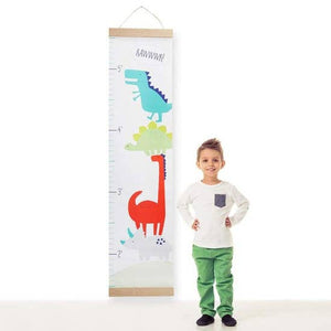 Dino Baby Hanging Growth Chart -Baby Aspen