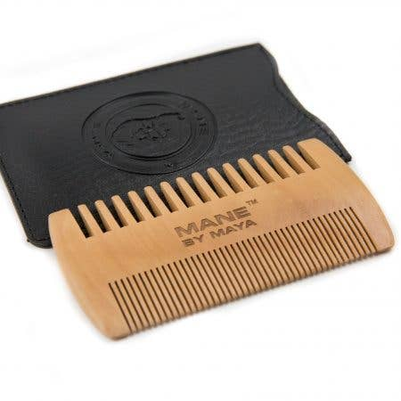 MAYA Cosmetics - Wooden Beard Comb