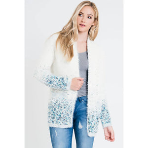 Renee C. - Open Front Cardigan with Pockets