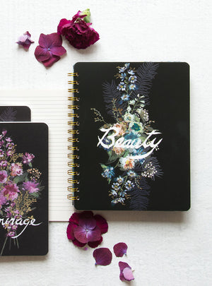 PAPAYA! - Spiral Notebook - Beauty Bouquet
