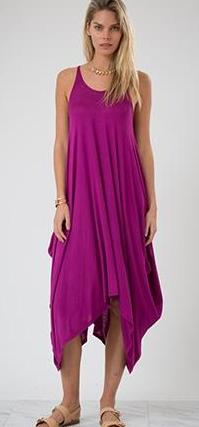 Magenta Harlem Maxi Dress