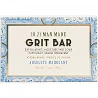 18.21 Grit Bar Soap Absolute Mahogany