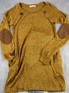 Mustard Button Me Up Tunic