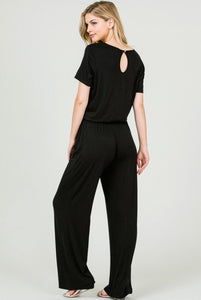 Hattie Black Jumpsuit