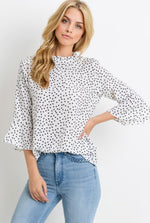 Camilla Polka Dot Top
